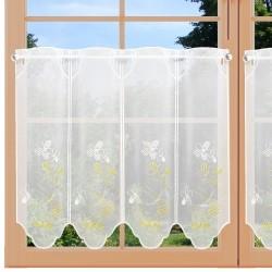 Scheibengardine Primavera am Fenster