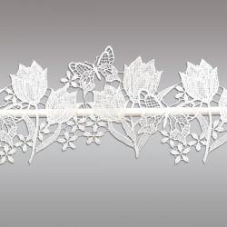 Feenhaus-Spitzenkante Tulpe Detail