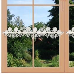 Feenhaus-Spitzenkante Tulpe am Fenster