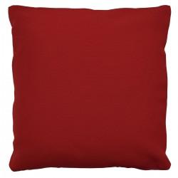 Kissenhülle Fanni in rot uni