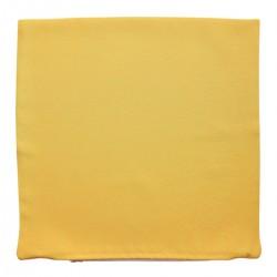 Kissenhülle Fanni in gelb uni ohne Füllung
