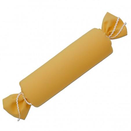 Schlummerrolle Fanni in gelb uni