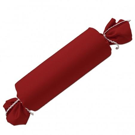 Schlummerrrolle Fanni in rot uni