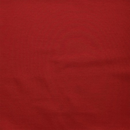 Schlummerrrolle Fanni in rot uni Stoffmuster