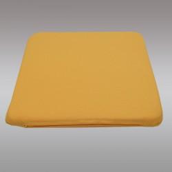 Sitzkissen Fanni in gelb uni