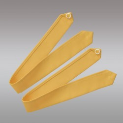1 Paar Raffhalter Fanni in gelb uni Musterbild