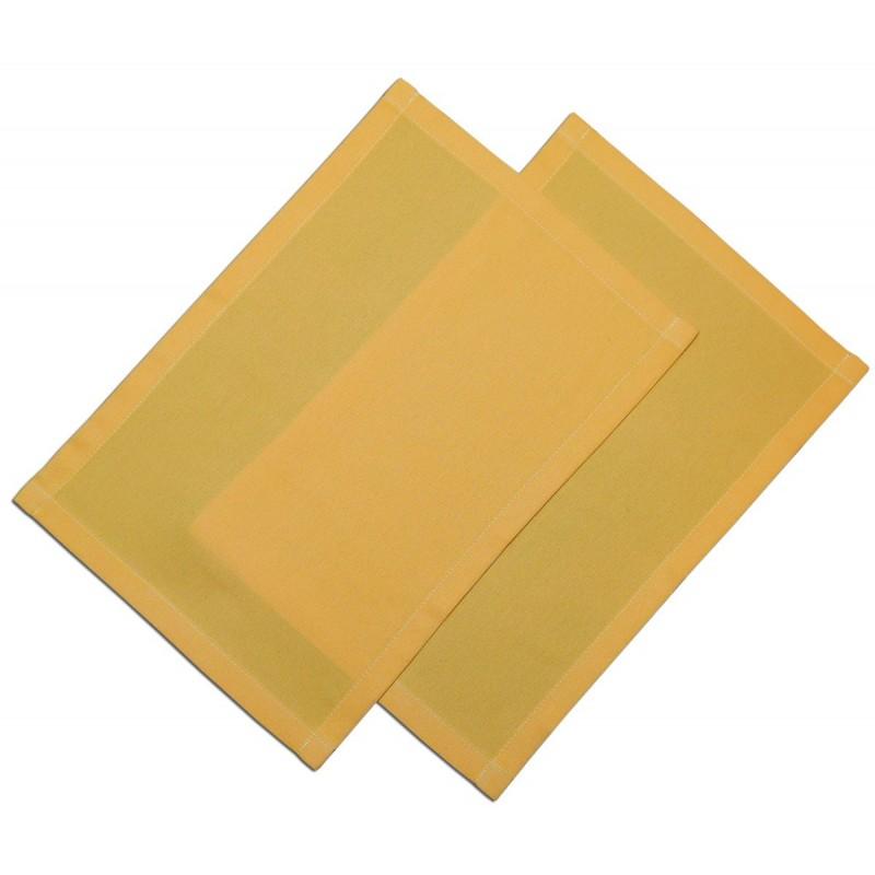 Platzdeckchen Fanni in gelb uni
