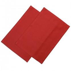 Platzdeckchen Fanni in rot uni