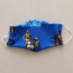 Mund- und Nasen-Maske für Kinder mit Star Wars Motiv