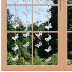 Girlande Fensterbild Schmetterling