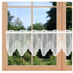 Scheibenhänger Jarin weiß an einem Fenster