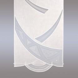 Flächengardine 'Bijou' creme Echte Plauener Stickerei