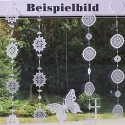 Fensterbild Girlande Sterne Beispielbild