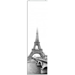 """Schiebevorhang """"Paris"""" - Eiffelturm incl. Paneelwagen"""