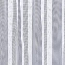 Fertigstore Rawa halbtransparent weiß Detailansicht Stoff