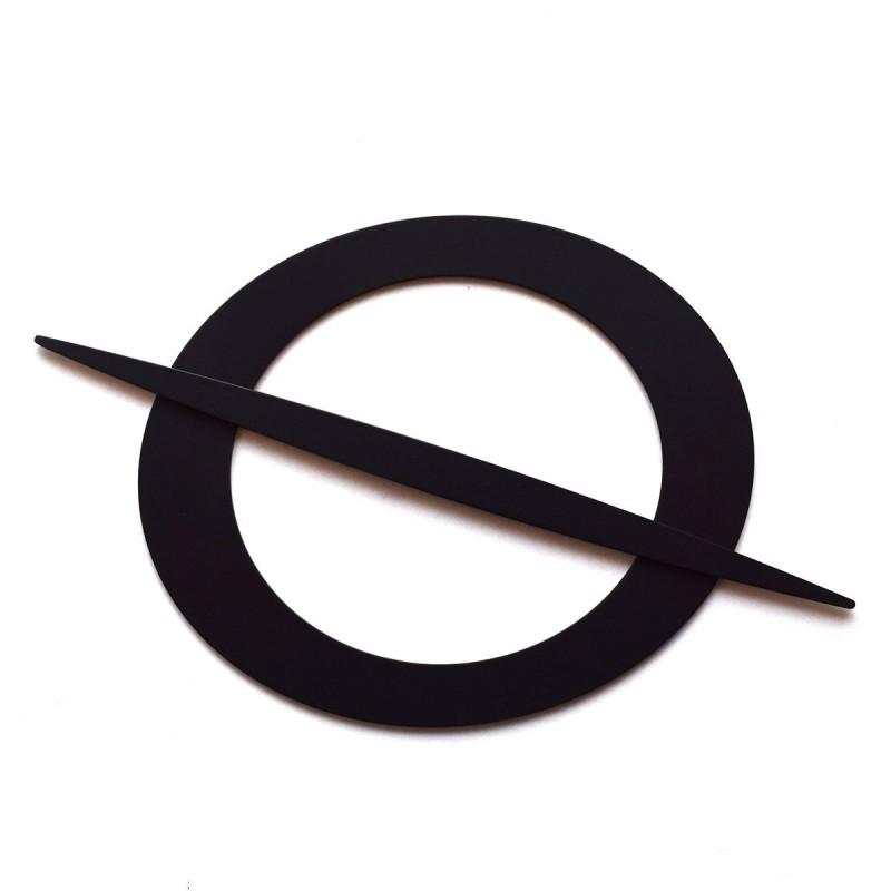 Raffring Raffhalter Raffspange mit Speer schwarz
