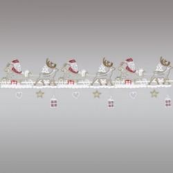 Feenhausspitze Renntierschlitten mit Weihnachtsmann Komplettansicht