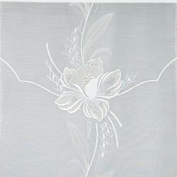 Scheibenhänger Blüte in Beige Detailansicht