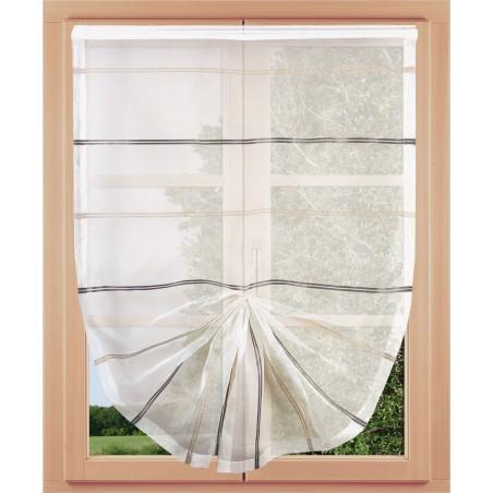 Scheibenhänger Organza am Fenster