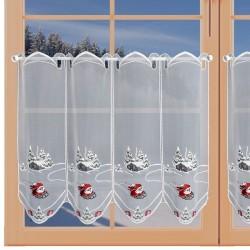 Scheibenhänger Winter-Wichtel am Fenster