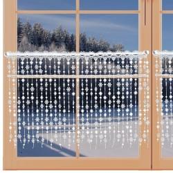 Wintergardine Schneesternchen am Fenster