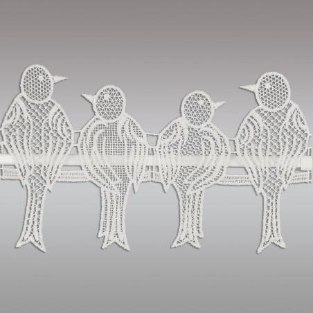 Feenhausspitze Spatzenfamilie Detailansicht