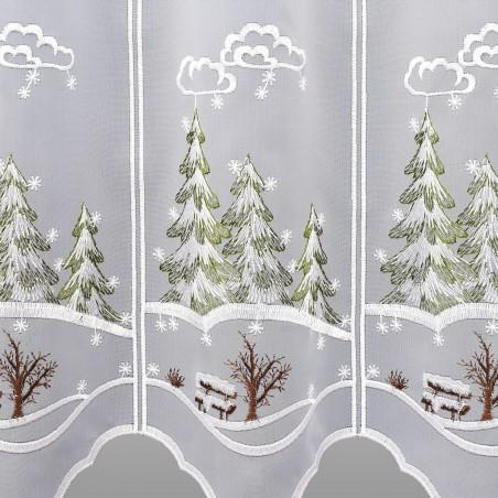 Scheibenhänger Wintertannen Detailansicht