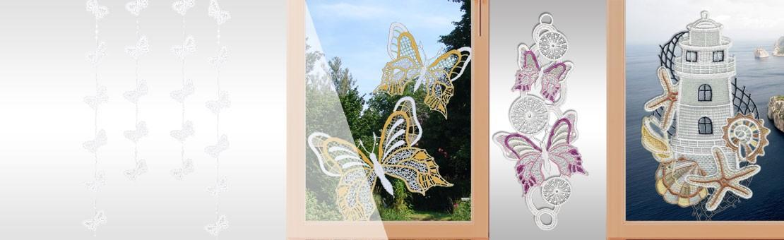 Fensterbilder & Girlanden